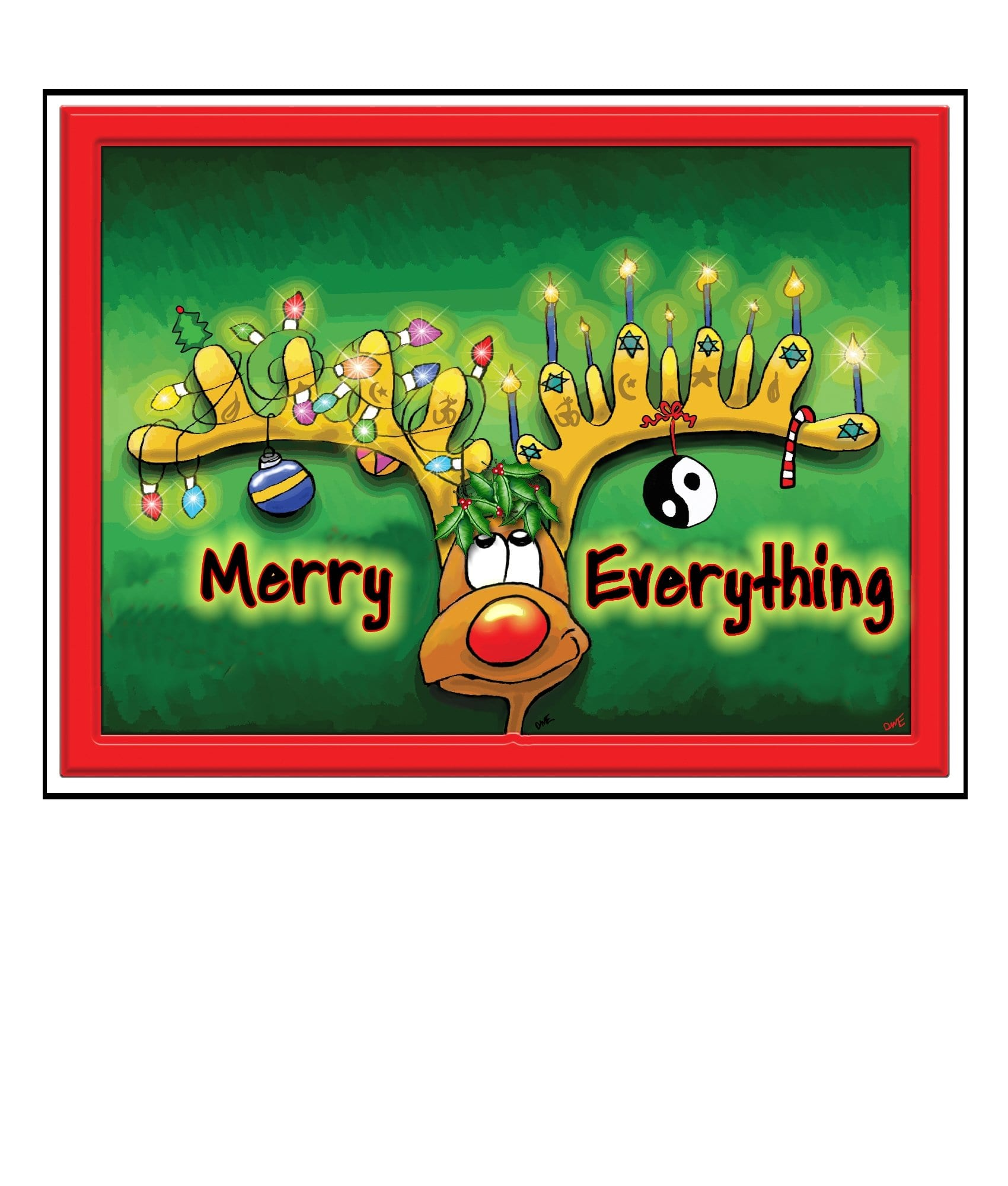 Holiday greeting cards the great cosmic happy ass card co holiday greeting cards m4hsunfo